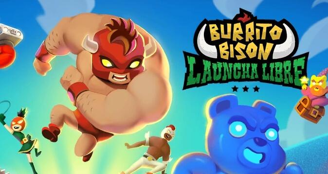 Burrito Bison: Laucha Libre