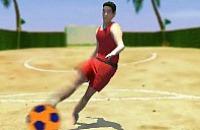 Speel nu het nieuwe voetbal spelletje Beach Voetbal 1