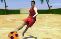 Beach Voetbal 1