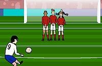 Speel nu het nieuwe voetbal spelletje Vrije trap nemen 1