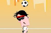 Speel nu het nieuwe voetbal spelletje Kopballen oefenen