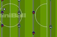 Speel nu het nieuwe voetbal spelletje Tafelvoetballen 1