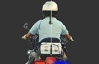 Politie op de motor