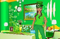 St. Patricks Day Room