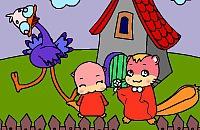 Cartoon Colorir