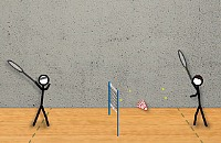 Stick Badminton 1