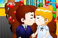 Beijo de Ônibus Escolar