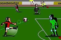 Speel nu het nieuwe voetbal spelletje Zombie Voetbal