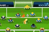 Speel nu het nieuwe voetbal spelletje Soccernoid