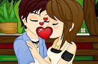 Romantische Kusjes