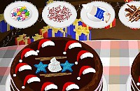 Kersttaart Namaken