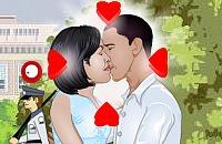 Bacio di Obama