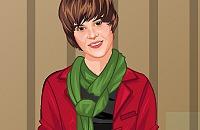 Justin Bieber Aankleden 1