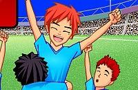 Speel nu het nieuwe voetbal spelletje Voetbal Sensatie