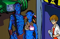 Jake & Neytiri in Perfect Harmony