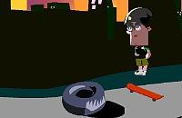Skateboarden 4
