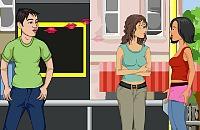 Bushaltestelle Flirt