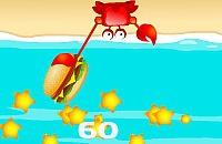 Gierigen Krabbe