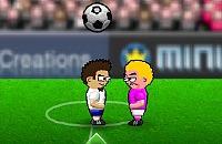 Speel nu het nieuwe voetbal spelletje Kopbal Voetbal