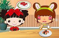Drukke Sushi Bar
