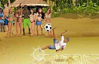 Speel nu het nieuwe voetbal spelletje Beachvoetbal Vaardigheden
