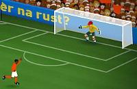 Speel nu het nieuwe voetbal spelletje Bal Ingooien