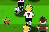 Speel nu het nieuwe voetbal spelletje Pass & Move