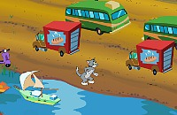 Tom & Jerry Cat Crossing
