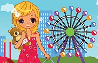 Ferris Wheel Park Dress Up