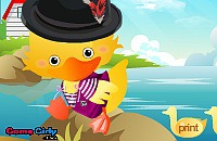 Lovely Duck Dressup