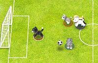 Speel nu het nieuwe voetbal spelletje Dieren Voetbal