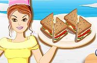 Geräucherter Lachs Sandwiches