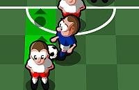 Speel nu het nieuwe voetbal spelletje De Dribbelkoning
