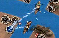 Boot Einmarsch