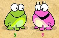 Klicken Sie auf den Frosch