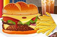 Burger Champignons