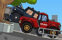 Vijf Jeeps
