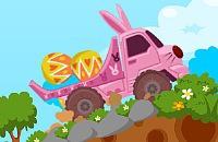 Paashaas Vrachtwagen