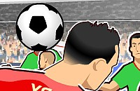 Speel nu het nieuwe voetbal spelletje Kop ballen
