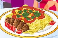 Spaghetti & Fleischbällchen