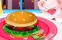 Köstliche Hamburger