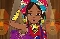 Afrikanische Farben