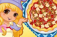 Lily ist ein Pizzabäcker