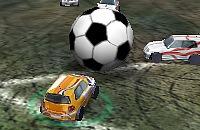 Speel nu het nieuwe voetbal spelletje Auto Voetbal