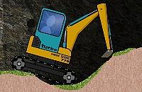 Mini-escavadora