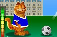 Speel nu het nieuwe voetbal spelletje Garfield Voetbal