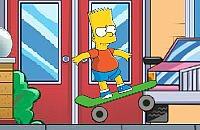 Bart Simpson Boarding