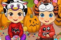 Zwillinge Halloween Kostüme