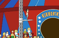 Cirque d'iDiots - Trapèze
