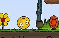 Bola Amarela Engraçada
